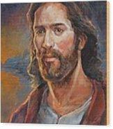 The Savior Wood Print by Steve Spencer