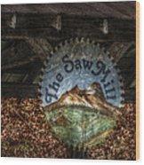 The Saw Mill Wood Print