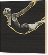 The Sawn Dive Circa 1939 Wood Print by Aged Pixel