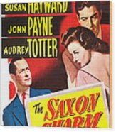 The Saxon Charm, Us Poster, From Left Wood Print