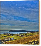 The Scenic Chambers Bay Golf Course II - Location Of The 2015 U.s. Open Tournament Wood Print