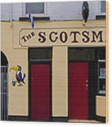 The Scottsmans Bar - Donegal Ireland Wood Print