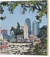 The Scout Kansas City Missouri Wood Print