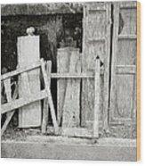 The Scrap Yard Wood Print