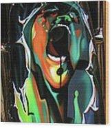 The Scream - Pink Floyd Wood Print