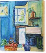 The Scullery  Wood Print