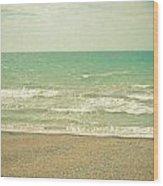 The Sea The Sea Wood Print