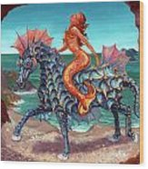 The Seamaid's Fantasy Wood Print