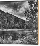 The Secluded Bald Mountain Pond Wood Print