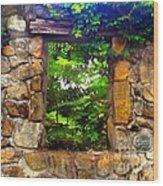 The Secret Window 1 Wood Print