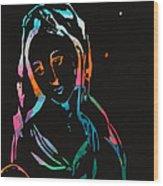 The Seedbearers - No 2 Wood Print by Milliande Demetriou