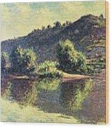 The Seine At Port-villez, 1883 Wood Print