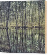 The Sentient Forest Wood Print