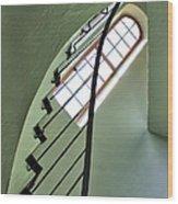 The Servants' Staircase Wood Print