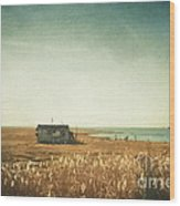 The Shack - Lbi Wood Print
