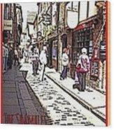 The Shambles York Wood Print