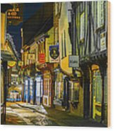 The Shambles York Uk Wood Print