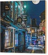 The Shambles Street In York U.k Hdr Wood Print