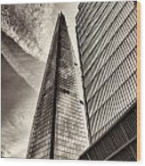 The Shard - The View Wood Print
