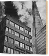 The Shard From Tooley Street Wood Print