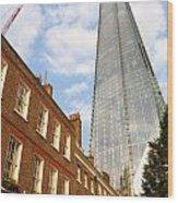 The Shard In London Wood Print