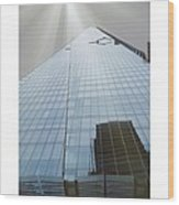 The Shard Wood Print by Maeve O Connell