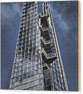 The Shards Of The Shard Wood Print