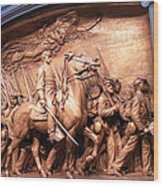 Saint Gaudens' The Shaw Memorial Wood Print