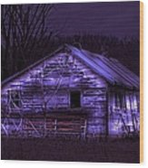 The Shed Wood Print