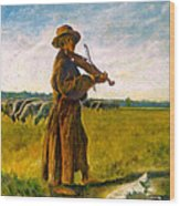 The Shepherd Wood Print