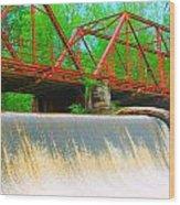 The Shoals Wood Print by Sarah E Kohara