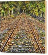 The Shortcut Wood Print