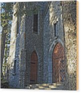 The Shrine Of St Therese Wood Print