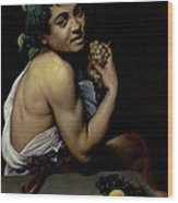 The Sick Bacchus, 1591  Wood Print