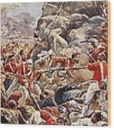 The Siege Of Delhi, 1857 Storming Wood Print