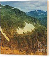 The Silent Mountains Wood Print