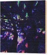 The Silent Musical Wood Print by Sir Josef - Social Critic -  Maha Art