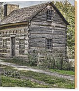 The Simple Life Wood Print by Heather Applegate