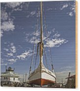 The Skipjack Rosie Parks Wood Print