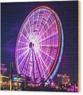 The Skywheel Wood Print