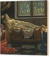 The Sleeping Beauty Wood Print
