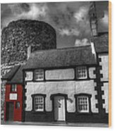The Smallest House In Great Britain Wood Print