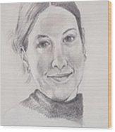 The Smile Wood Print