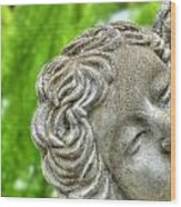The Smiling Angel Buffalo Botanical Gardens Series Wood Print