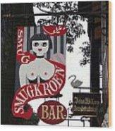 The Smugkroen Bar Wood Print