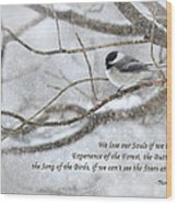 The Song Of The Birds Wood Print