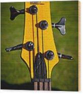 The Soundgear Guitar By Ibanez Wood Print by David Patterson