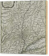 The Southern Part Of The Province Of New York Wood Print