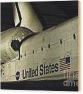 The Space Shuttle Endeavour 12 Wood Print