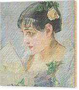 The Spanish Woman Wood Print